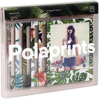 Molduras Magnética Polaprint Tropical - 6 Unidades