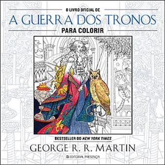 O Livro Oficial de «A Guerra dos Tronos» Para Colorir