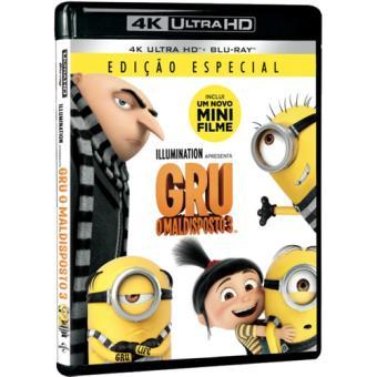 Gru - O Maldisposto 3 (4K Ultra HD + Blu-ray)