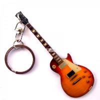 Stainless keychain - Led Zeppelin Jimi Page - GIBSON LES PAUL ...