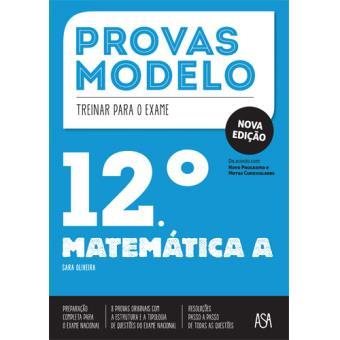 Provas Modelo - Matemática A 12º Ano