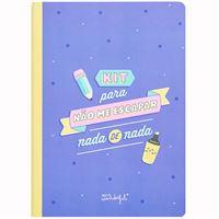 Caderno de Autocolantes e Notas Adesivas Mr. Wonderful
