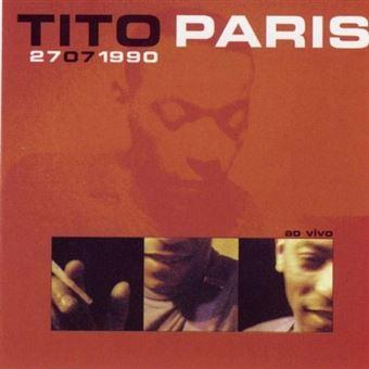 Tito Paris ao Vivo - CD