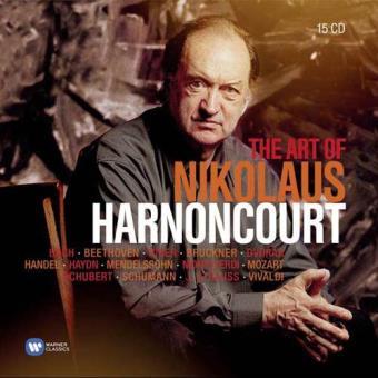 The Art of Nikolaus Harnoncourt (15CD)