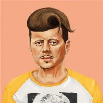Póster Fisura Hipstory - John F. Kennedy