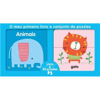 O Meu Primeiro Livro e Conjunto de Puzzles: Animais