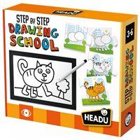 Step By Step Drawing School - Headu