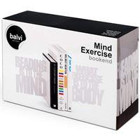 Suporte Cerra-Livros Balvi - Mind Exercise - 2 Unidades