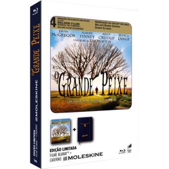 O Grande Peixe - Edição Moleskine (Blu-ray)