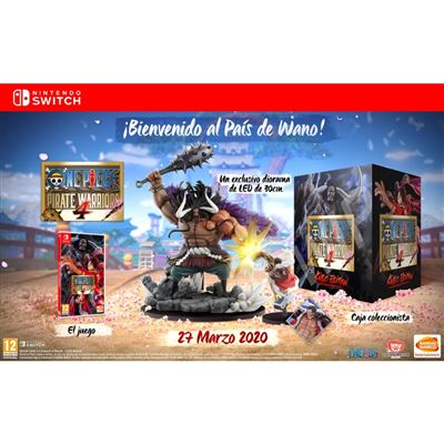 Jogo Switch One Piece Pirate Warriors 4: Kaido Edition (Collector's Edition)