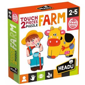 2 Pieces Puzzle Touch Farm