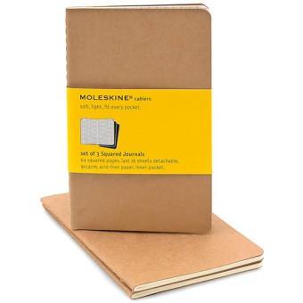 Moleskine: Caderno Quadriculado Bolso Bege