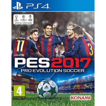 Pro Evolution Soccer 2017 PS4 (PES 2017)