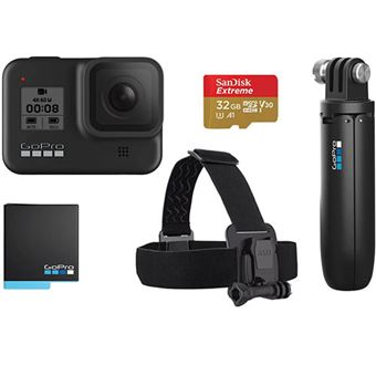Action Cam GoPro HERO8 - Black Bundle