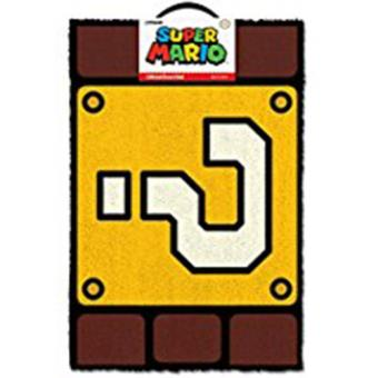 Doormat-Super Mario-Question Mark