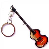 Stainless keychain - Paul McCartney - HOFNER BASS