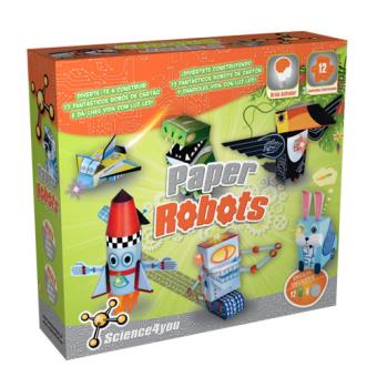 Paper Robots Science4you