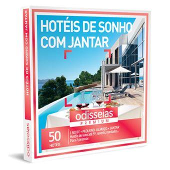 Odisseias 2019 - Hotéis de Sonho com Jantar