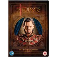 The Tudors - Complete Season 1-4 - 12DVD Importação