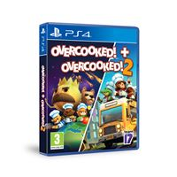 Overcooked! + Overcooked! 2 - Double Pack- PS4