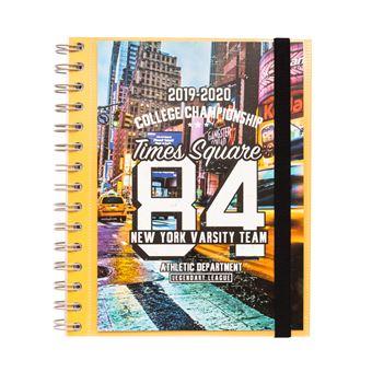 Agenda Escolar Semanal 2019-2020 New York