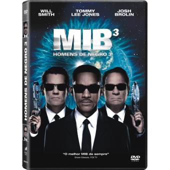 MIB: Homens de Negro 3 - DVD