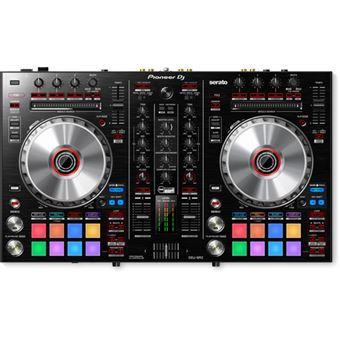 Pioneer DDJ-SR2 controlador de DJ Preto 2 canais