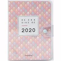 Agenda 12 Meses 2020 Day by Day Os 366 dias 2020 A6 - Rosa Velho