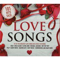 101 Love Songs Hits - 5CD