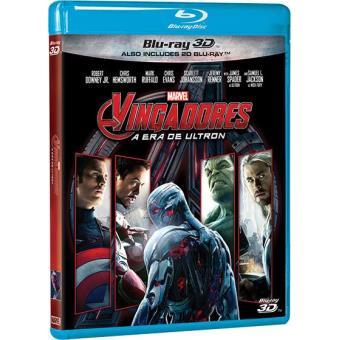 Os Vingadores 2: A Era de Ultron (Blu-ray 3D + 2D)