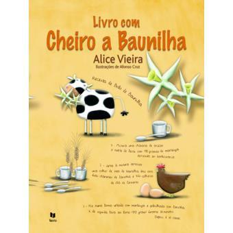 Livro com Cheiro a Baunilha