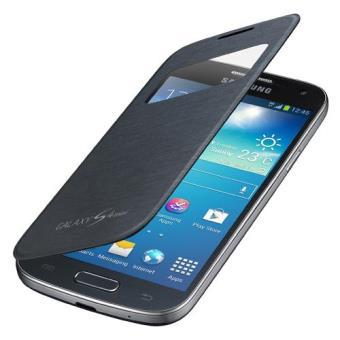 detailed look 5ee0f f4c1c Samsung Capa Flip Cover S View para Galaxy S4 Mini (Preto)