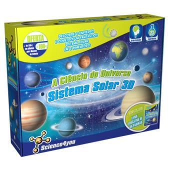 A Ciência do Universo - Sistema Solar 3D - Science4you