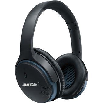 Bose SoundLink Fita de cabeça Binaural Bluetooth Preto, Azul auricular para telemóvel