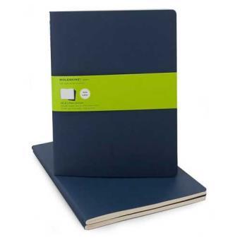 Moleskine: Caderno Liso XL Azul
