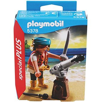 Playmobil 5378 Pirata com Canhão