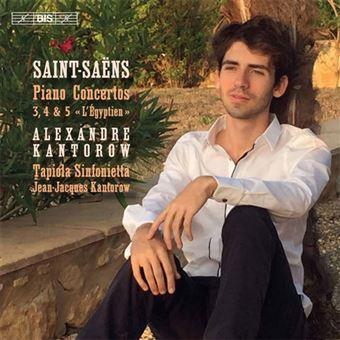 Saint-Saëns: Piano Concertos 3, 4 & 5 L'Égyptien - SACD