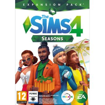 The Sims 4 Seasons - Code in a Box - PC
