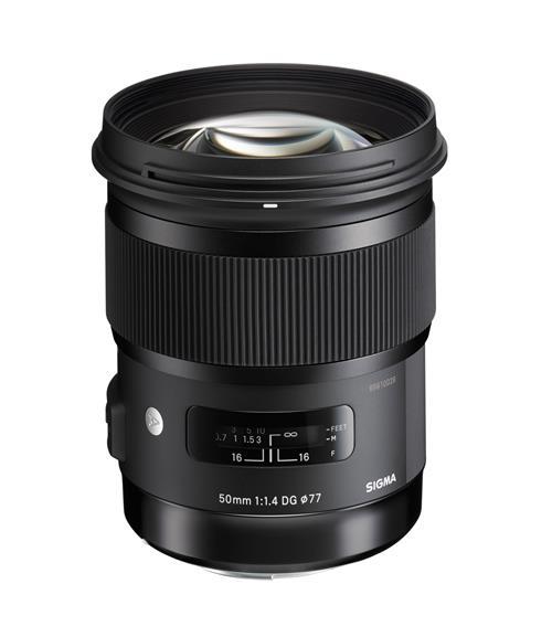 SIGMA - Sigma Objetiva 50mm f/1.4 DG HSM Art (Canon)