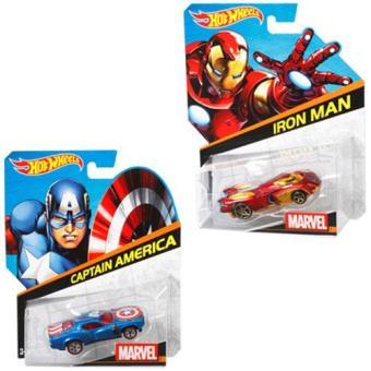 Hot Wheels Carros Personagens Marvel (Sortido)
