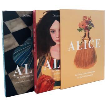 Coleção Alice no País das Maravilhas + Do Outro Lado do Espelho