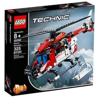 LEGO Technic 42092 Helicóptero de Salvamento