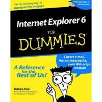 INTERNET EXPLORER 6 FOR DUMMIES