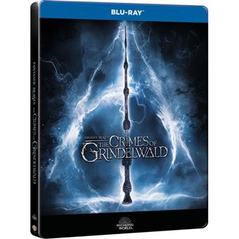 Monstros Fantásticos: Os Crimes de Grindelwald - Edição Steelbook - Blu-ray 3D + 2D