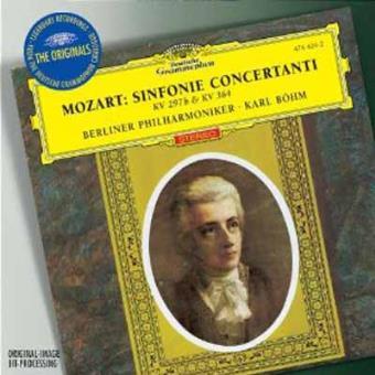 MOZART-SINFONIAS CONCERTANTE