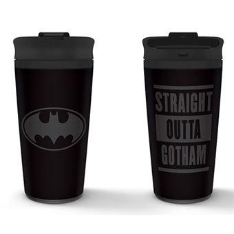 Copo de Viagem Metálico Batman: Straight Outta Gotham