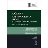 Código de Processo Penal e Legislação Complementar