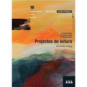 Manual do Aluno, Projetos de Leitura Língua Portuguesa 10/11º Ano (Vol 1 + 2)