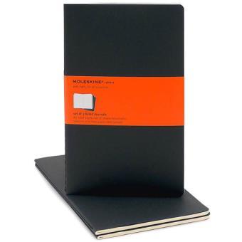 Moleskine: Caderno Pautado Grande Preto