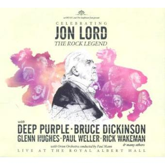 Celebrating Jon Lord - The Rock Legend  (2CD)
